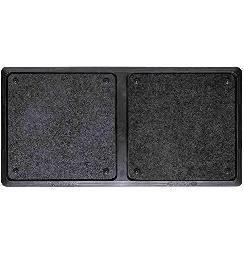 TIENDA EURASIA® Alfombra - Felpudo Desinfectante para la Entrada. Medida: 40 x 80 cm. Incluye 1...
