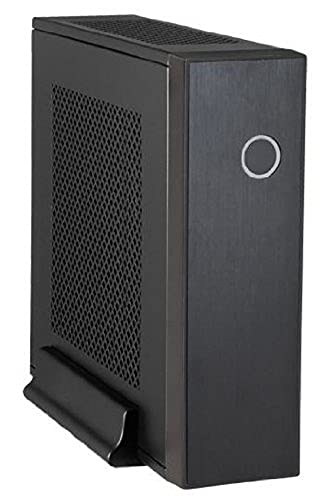 Chieftec IX-03B-90W PC-Gehäuse (Mini-ITX, 2X 2,5 Zoll interne) schwarz