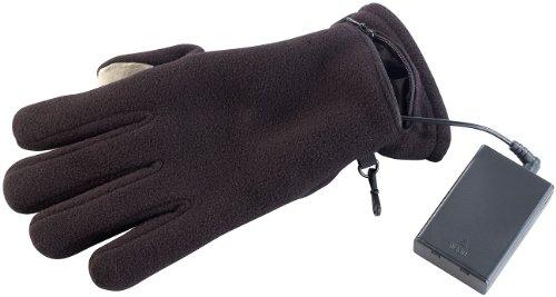 PEARL urban Handwärmer Handschuhe: Beheizbare Touchscreen-Handschuhe mit kapazitiven Fingerkuppen, Gr. L (Heiz Handschuhe)