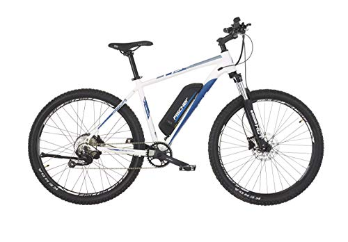 Fischer E-Bike MTB MONTIS 2.0, perlweiß matt, 27,5 Zoll, RH 48 cm, Hinterradmotor 45 Nm, 48 V Akku (Generalüberholt)