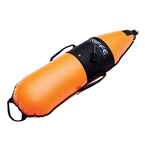 Riffe Torpedo 2 Divers Float w/ Dive Flag for Spearfishing and Freediving