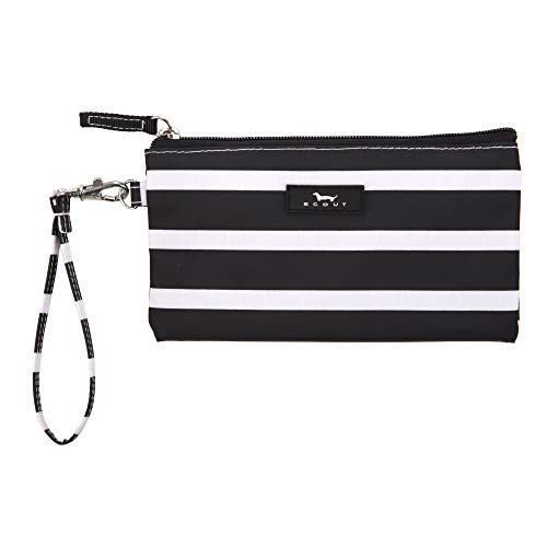 SCOUT Kate Wristlet, Lightweight Wristlet Wallet for Women, Small Clutch Wristlet with Strap in our Fleetwood Black Pattern (Multiple Patterns Available)