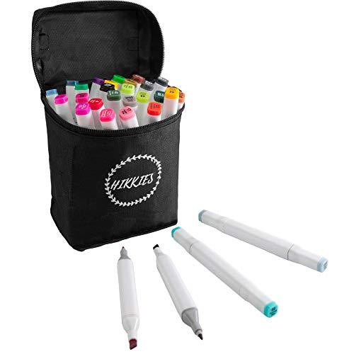 Hikkies 30 Dual Tip Alcohol Markers Set....