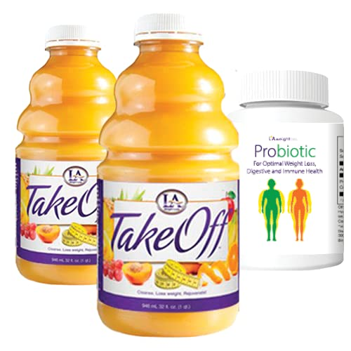 LA Weight Loss Takeoff Cleanse & LA Probiotic - Detox and Jumpstart Your Weight Loss
