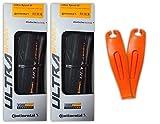 Continental Ultra Sport III Road Bike Tires, Folding PureGrip, Pair -...
