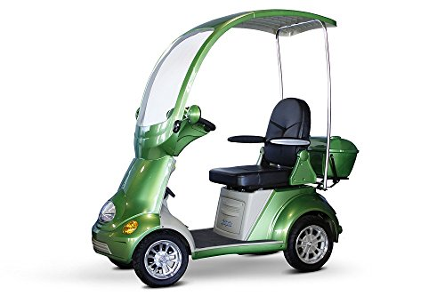 New E-Wheels - EW-54 Heavy Duty Bariatric Scooter - 4-Wheel - 18W x 18D - Green