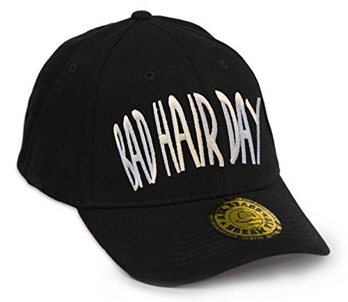 Preisvergleich Produktbild Unisex Baseball Snap Back Cap Flexfit Bad Hair Day Kappe HUT Mütze Caps Snapback (L / XL,  BHD)