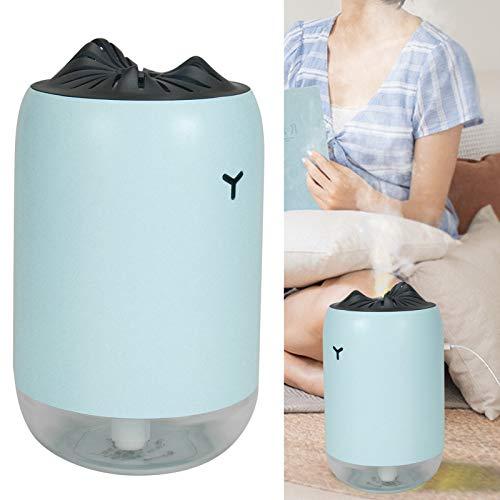 Difusor de agua Control de un botón Humidificador de escritorio de gran capacidad de 260 ml, humidificador para oficina en casa(blue, Pisa Leaning Tower Type)