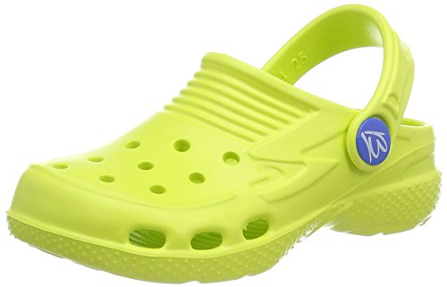 Beck Unisex-Kinder Clogs,Gelb (Gelb 10),27 EU