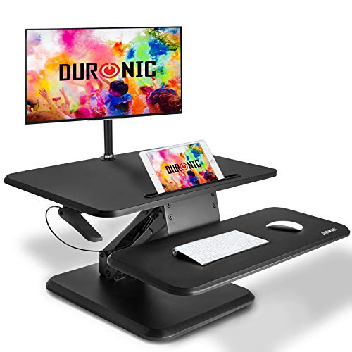 Duronic Sit-Stand Desk DM05D14   Height Adjustable Office...
