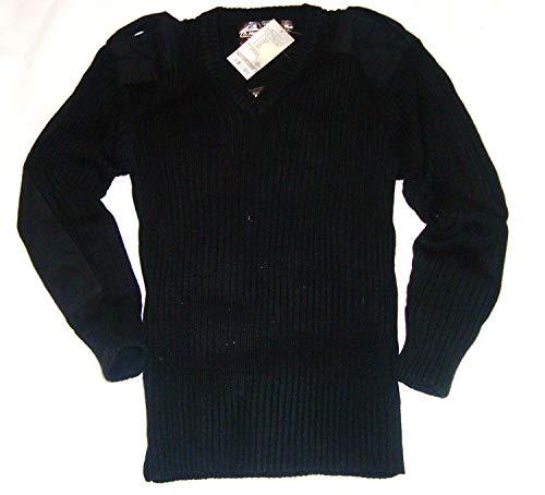 Highlander Herren Pullover, schwarz, S