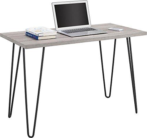 Ameriwood Home Owen Retro Desk with Metal...