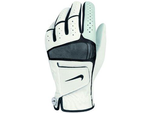 Nike Golf Hombre Tech Xtreme IV guante cadete mano izquierda en negro con ribete blanco