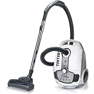 Prolux Tritan Bagged Canister Vacuum with HEPA Filtration