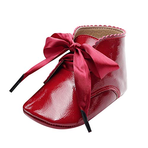 Alwayswin Baby Mädchen Booties Neugeborene Erste Wanderer Schuhe Kurze Stiefel Mode rutschfeste...