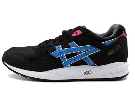 ASICS GEL SAGA Black/Blue Aster/Pink/Green (28cm) アシックス ゲルサガ 黒青ピンク緑