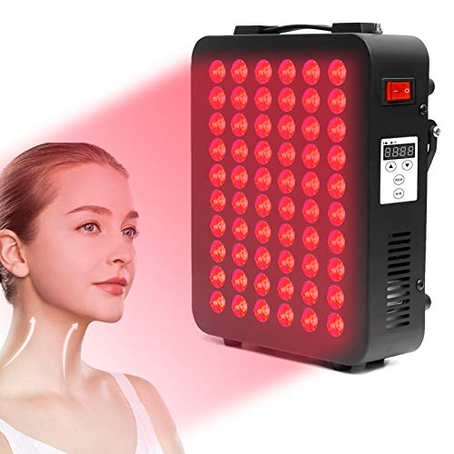 Red Light Therapy Device, 660&850nm Near Infrared Led Light Therapy, Clinical Grade Home Use Light Therapy Lamp with Timer for Anti-Aging, Muscle & Joint Pain Relief, Boost Immunity