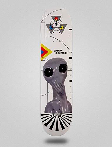 Alien Workshop Monopatín Skate Skateboard Deck PRO Sammy Montano 8.125