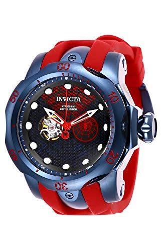 INVICTA Herren Analog Automatik Uhr mit Silikon Armband 26120