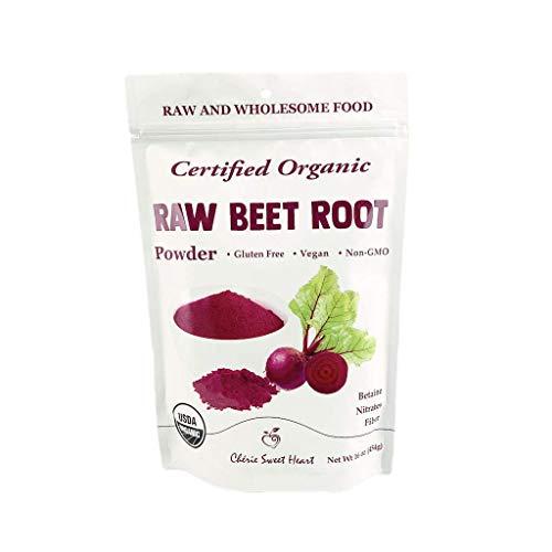 Organic Beet Root Powder (1 LB) by Chérie Sweet Heart, Raw & Non-GMO