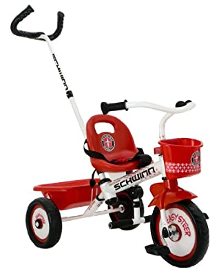 Schwinn Easy Steer Tricycle, Red/White by Pacific Cycle