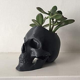 Skull Pot Planter Flower Pot Planter Hand-Made Succulent Decoration 3D Printed 12 Colors