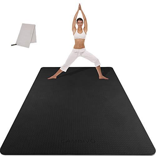 CAMBIVO Large Yoga Mat (6