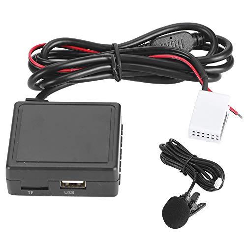 zhuolong Adaptador AUX, Adaptador de música Bluetooth para Coche, Cable Receptor de micrófono Apto para RCD210 RCD300 RCD310 RNS300 RNS310