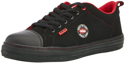 Lee Cooper Workwear Mens Low Top SB SRA Trainer Retro Baseball Safety Shoes 7-12