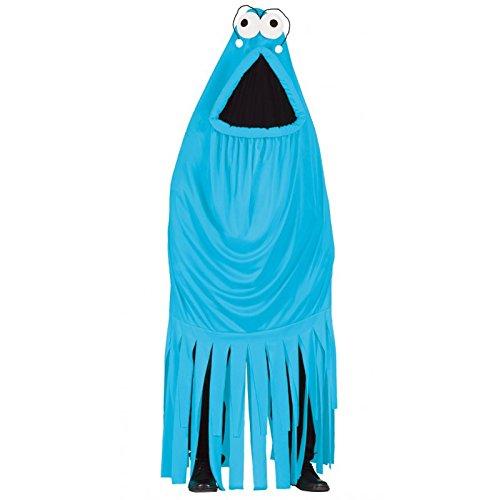 Guirca - Disfraz de Monstruo Azul Unisex Haloween - 80969