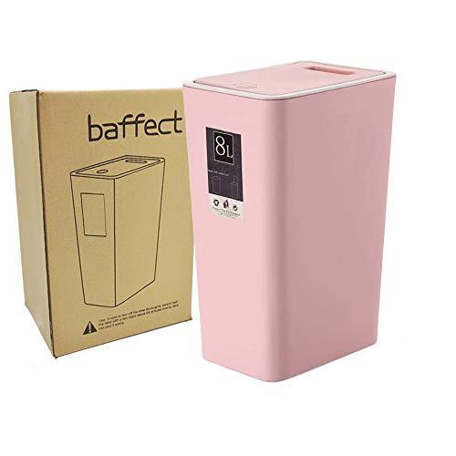 Papelera Baño Rosa Marca Baffect