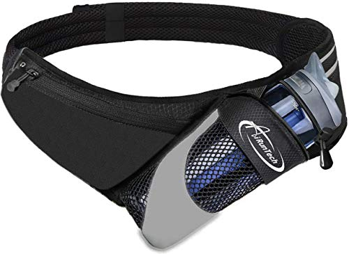 AiRunTech Upgraded No Bounce Hydration Belt Can be Cut to...