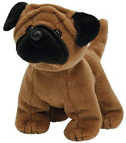 TY Rootbeer the Pug Beanie Baby by TYBEANIES DOGS