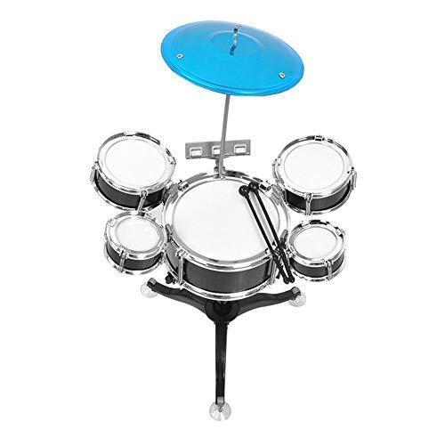 Zerodis Juego de batería para niños de educación temprana Juego de batería para Principiantes Instrumento Musical para niños Puzzle de educación temprana Juguetes para niños