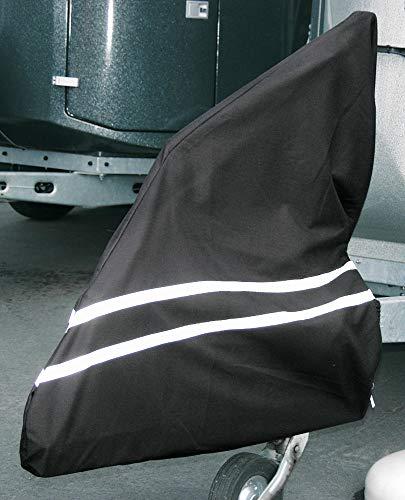 PFIFF Schutzhülle für die Anhängerdeichsel, schwarz