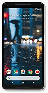 Google Pixel 2 XL Unlocked 64gb GSM/CDMA - 4G LTE 6in P-OLED Display 4GB RAM 12.2MP Camera Phone - Black & White (Renewed) (Black & White, 64 GB)