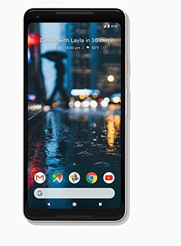 Pixel 2 XL Unlocked GSM/CDMA - US warranty (Black and White, 128GB) (Renewed)