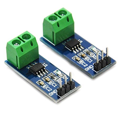 HiLetgo 2pcs ACS712 30A Current Sensor Module 30A Range ACS712 Module