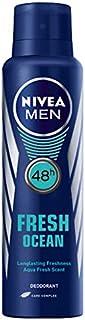 Nivea Men Fresh Ocean 48 Hours Deodorant Spray150ml with Ayur Product in Combo