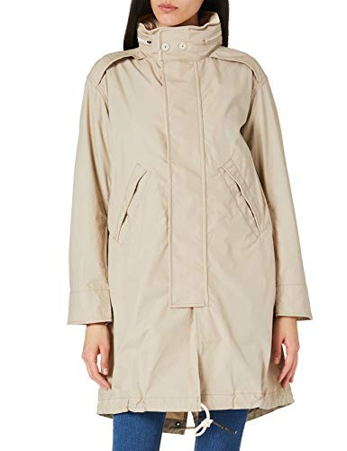 G-STAR RAW Womens Fishtail Parka, Khaki A790-367, M