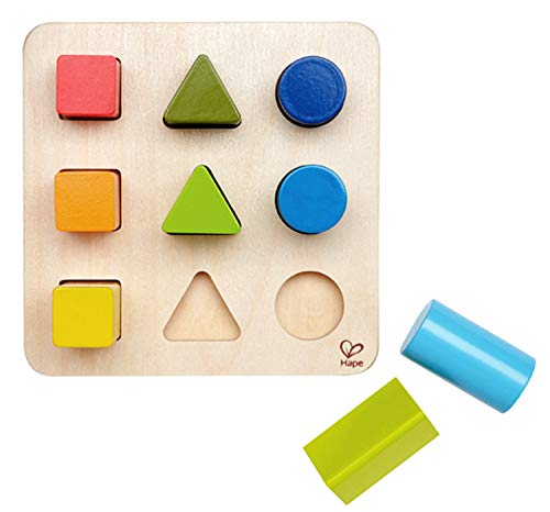 Hape Color and Shape Wooden...