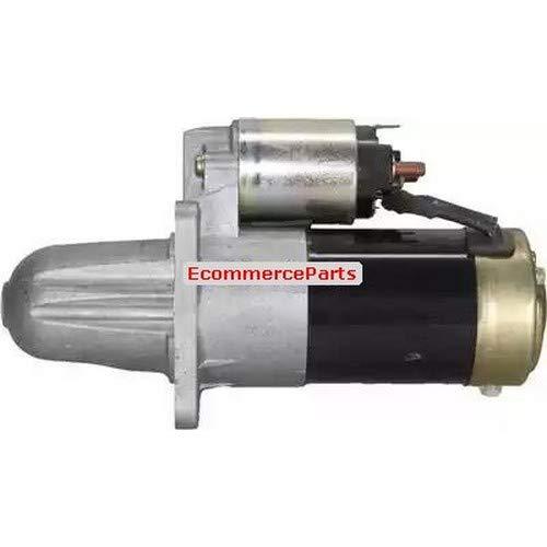 Motor de arranque EcommerceParts 9145374937697. Voltaje: 12 V. Número de dientes: 12. Rendimiento en fase de arranque: 1 kW, ID. Tipo de enchufe: Plug, abrazadera: M8.
