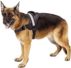 Big Dog Soft Reflective No Pull Black Harness size XL 36-46inch