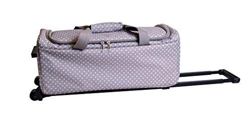 Artemio 18001032 koffer met wieltjes voor Scan N Cut, stof, meerkleurig, 53 x 23 x 24 cm