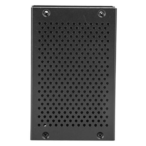 Mesh Shell Enclosure Black Cooling Protective Box Cooling Box Case Strong and Durable Upgraded Version Vent Surface Compatible with Pi 3/2/B/B+