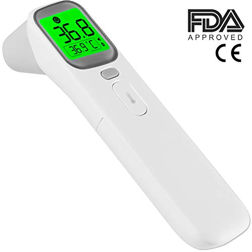 Non-Contact Forehead Infrared Thermometer Body Temperature FDA Approved, No-Touch Digital Thermometer, 1 Second Measure