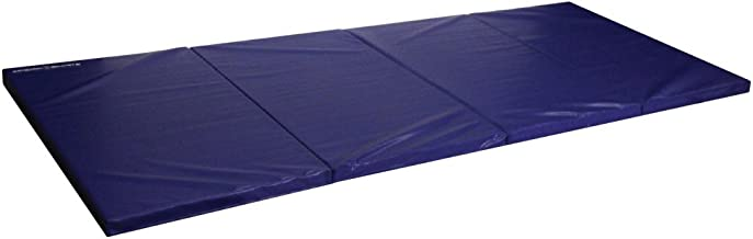 Seismic Sports - SSM-482RB - Blue Gymnastics Mat for Tumbling Yoga Exercise Karate Cheer, 4' x 8' x 2'