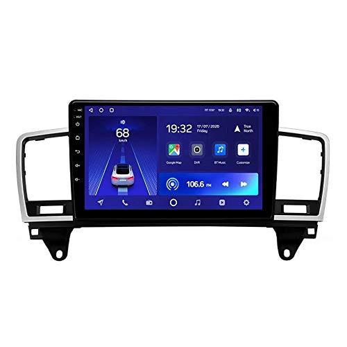 2 DIN Car Stereo Radio De Coche De 9 Pulgadas HD Pantalla Táctil Bluetooth Manos Libres Radio Auto con Cámara De Visión Trasera, para Mercedes Benz M Class W166 2011-2015,Octa Core,4G WiFi 4+64