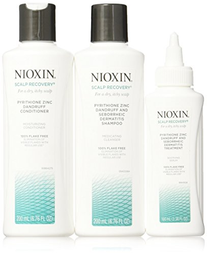 Nioxin Scalp Recovery System Shampoo & Conditioner Treatment for Dry Itchy...