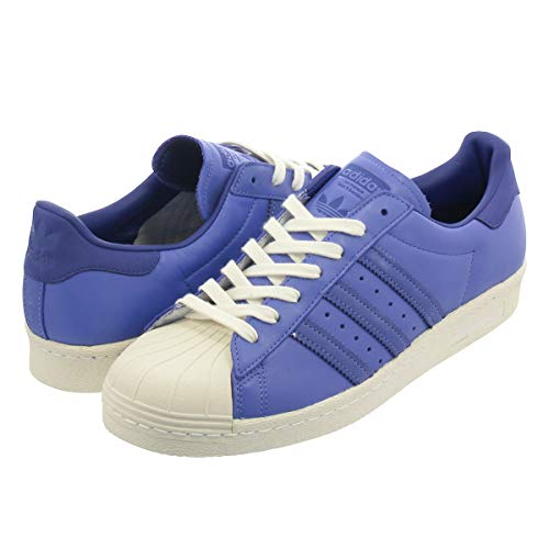[アディダス] SUPERSTAR 80s REAL LILAC/ACTIVE BLUE/OFF WHITE 26.0cm